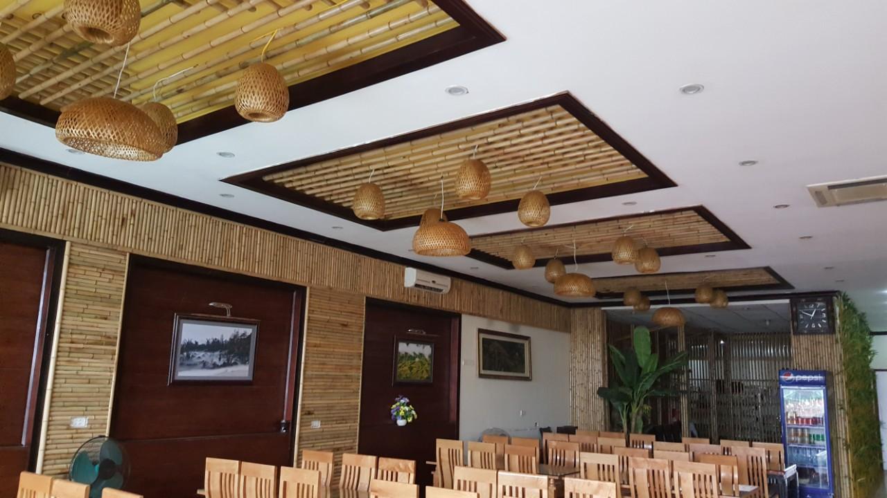 Ốp trần tre trúc cho quán ăn, nhà hàng tại TP.HCM