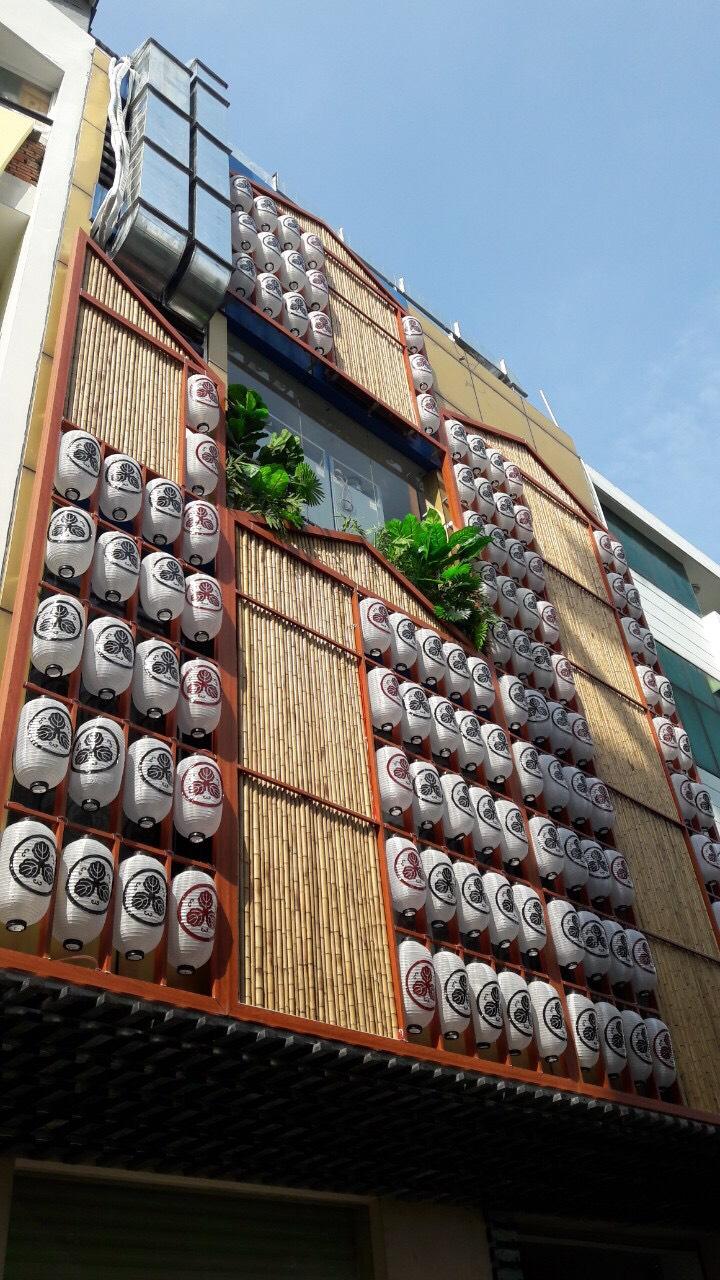 Công trình thi công ốp tre trúc của chúng tôi tại Sài Gòn