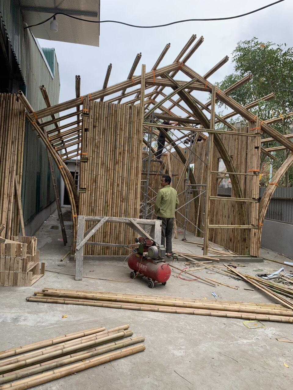 Thi Công Tre Trúc chính là đơn vị cung cấp tre tốt nhất cho các công trình tre trúc tại Sài Gòn