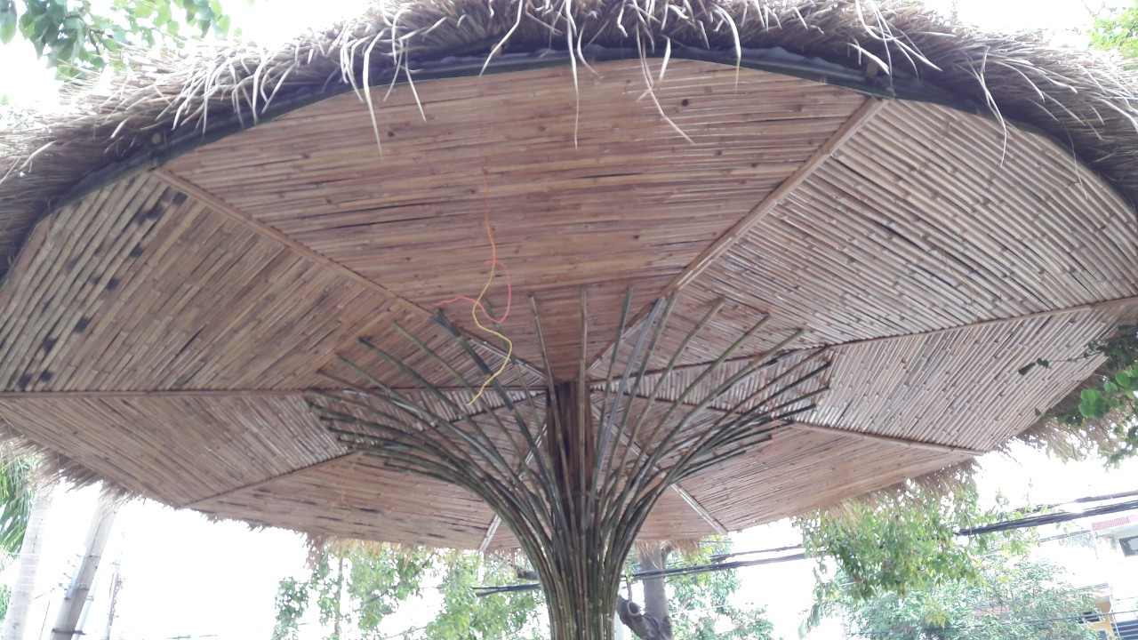 Chọn cây tầm vông trang trí là một lựa chọn vô cùng sáng tạo và độc đáo