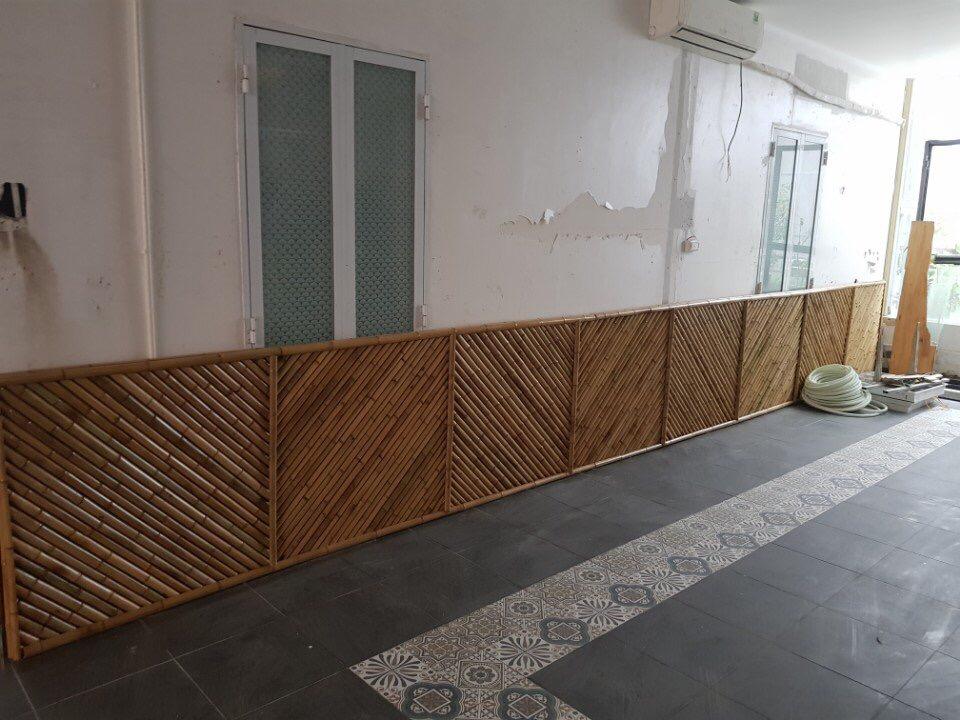 Ốp tường cho khu nhà trọ tại quận 7