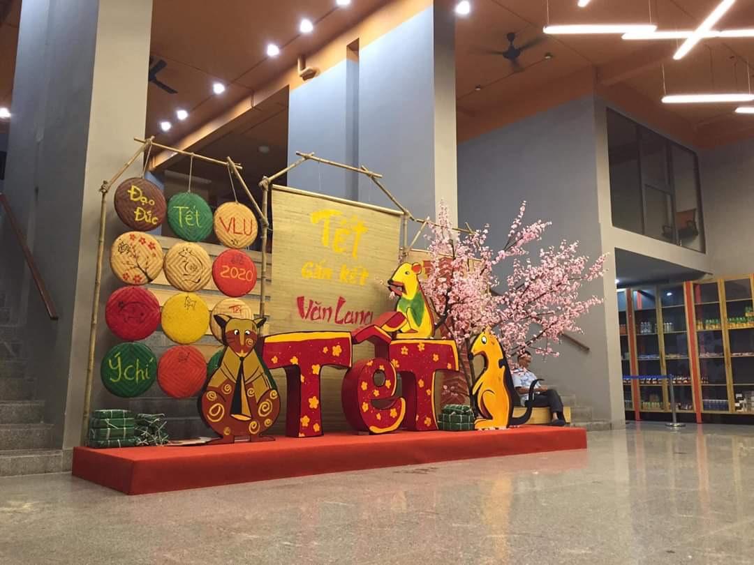 Thi Công Tre Trúc - đơn vị chuyên thi công trang trí tết, hội chợ xuân, lễ hội ẩm thực tại Sài Gòn.