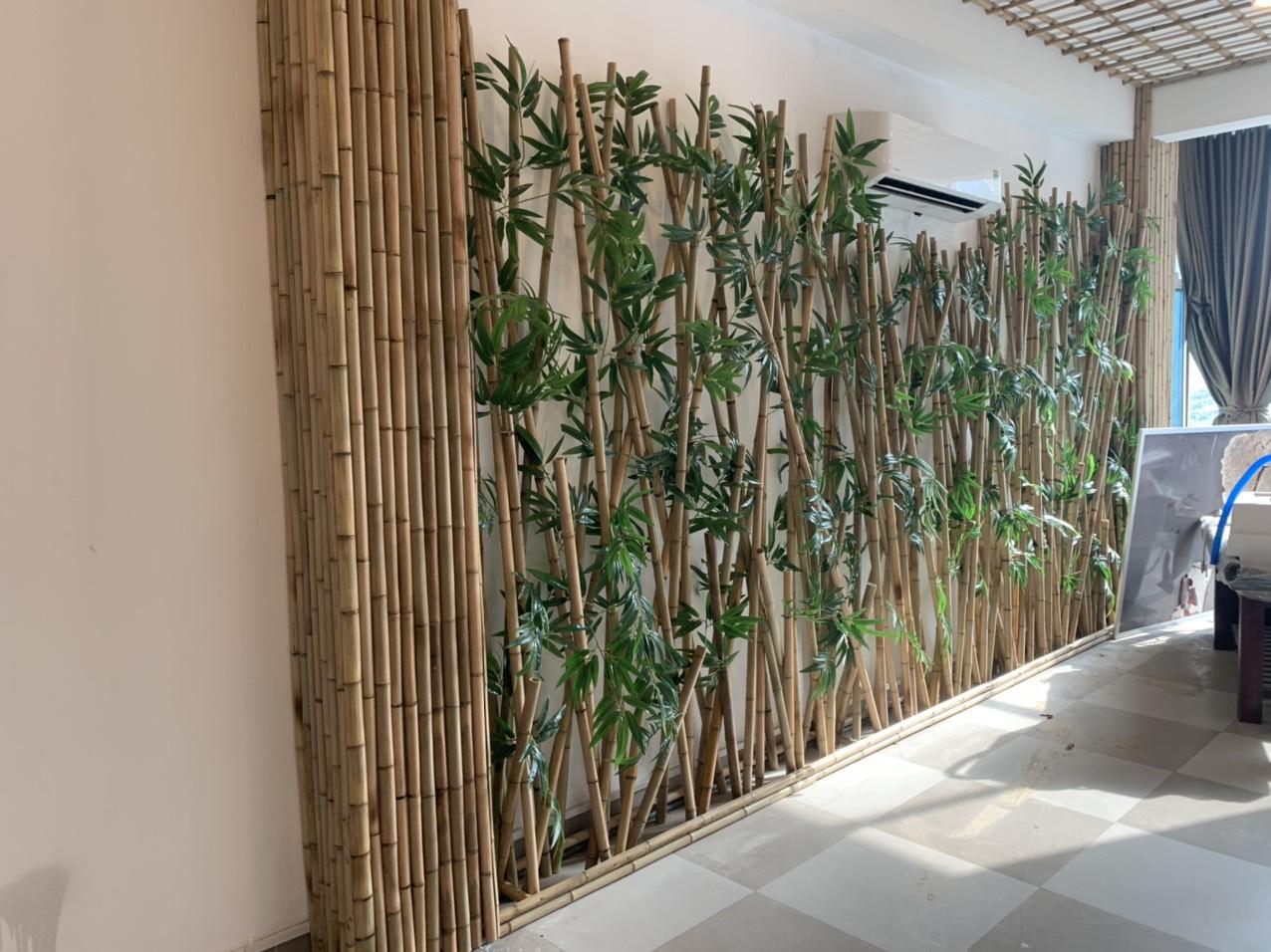 Ốp tường, ốp trần, ốp vách nhà tre xu hướng 2021